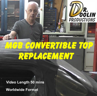 MGB-DVD Convertible top