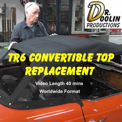 TR6-DVD Convertible top