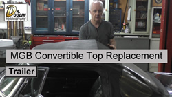 MGB Convertible Top Trailer