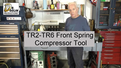 small TR6 Front Spring Tool